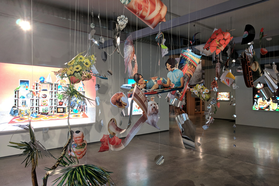 Kerry Ann Lee, Fruits in the Backwater, 2017 (install view). Pataka Art + Museum, Porirua. Photo by Amy Weng