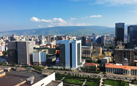 Ulaanbaatar City. Photo by Sena Park